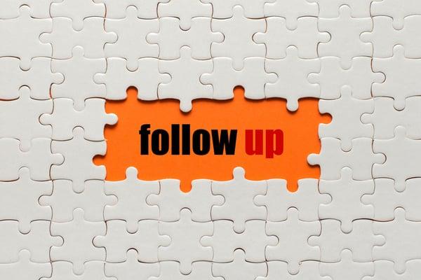 Follow Up Tips