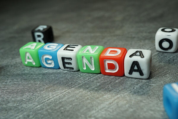 how to keep a meeting agenda on track