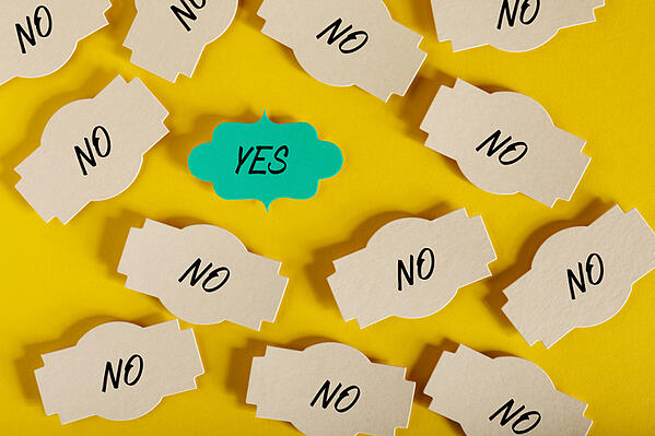 turning a no into a yes